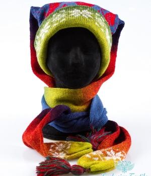 Комплект: шапка-шарф трансформер MWLC23Аксессуары Шапки